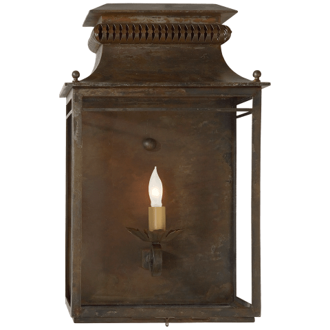 Flea Market Lantern in Antique Zinc