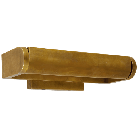"David 12"" Art Light in Hand-Rubbed Antique Brass"