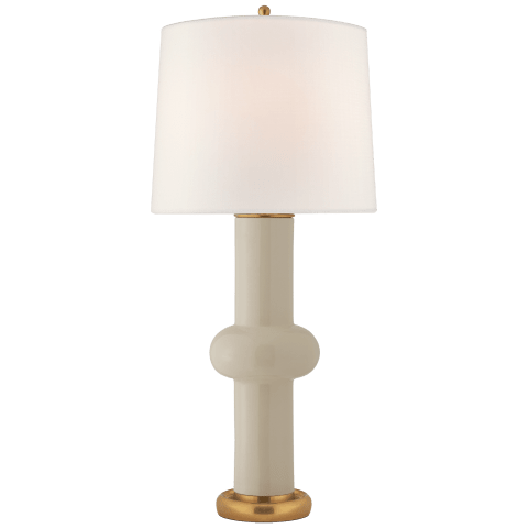Bibi Large Table Lamp in Coconut with Linen shade