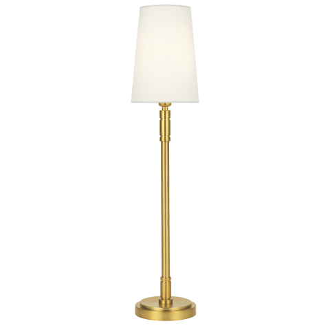 Beckham Classic 1 - Light Table Lamp Burnished Brass Bulbs Inc