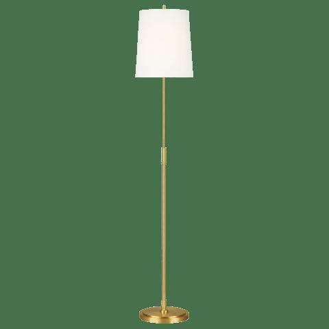 Beckham Classic Floor Lamp Burnished Brass Bulbs Inc