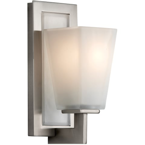 Clayton 1 - Light Sconce Brushed Steel