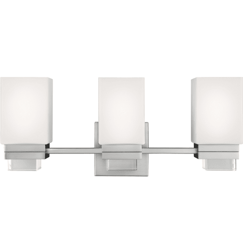 Maddison 3 - Light Vanity Satin Nickel