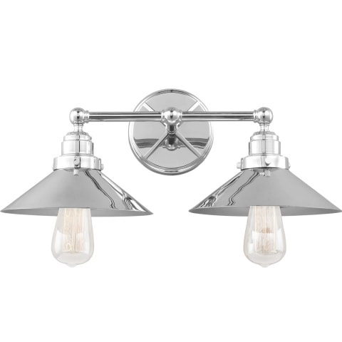 Hooper 2 - Light Vanity Chrome