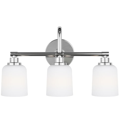 Reiser 3 - Light Vanity Chrome