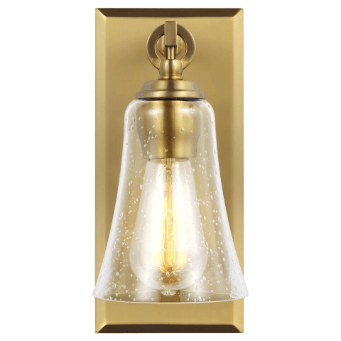 Monterro 1 - Light Sconce Burnished Brass