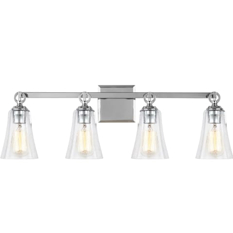 Monterro 4 - Light Vanity Chrome