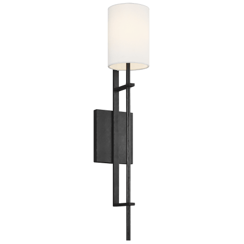 Ansley 1 - Light Wall Sconce Aged Iron