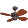 "28"" Colony II Fan -  Roman Bronze"