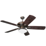 "54"" The Shores Outdoor Fan -  Roman Bronze"
