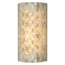 Playa Flush Wall Natural satin nickel 2700K 80 CRI led 80 cri 2700k 120v (t24)
