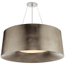Halo Medium Hanging Shade in Burnished Silver Leaf