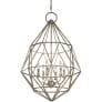 Marquise 6 - Light Chandelier Burnished Silver