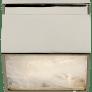 "Ellis 5"" Solitaire Flush Mount in Polished Nickel and Natural Quartz"