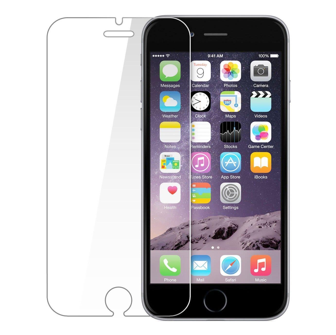 0539edfd82f Cristal Templado iPhone 6 Plus / 6S Plus - Transparente - Cell Shop