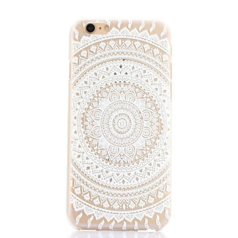 Mandala Case D iPhone 6 / 6S - Transparente