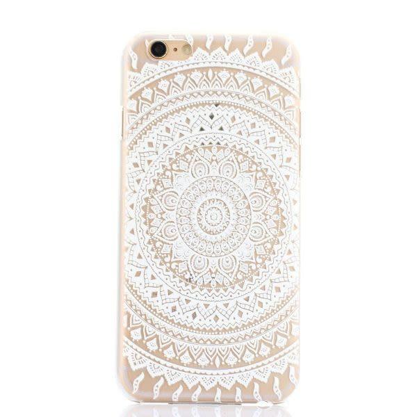 Mandala Case D iPhone 6 / 6S - Transparente