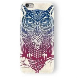 Funda Case Love Buho iPhone SE / 5 / 5S - Blanco