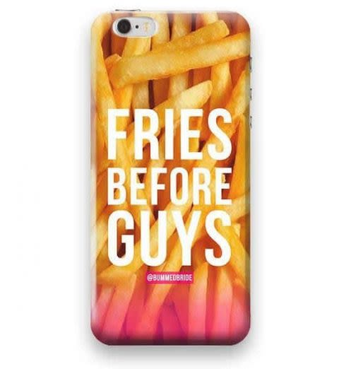Funda Case Love Fries iPhone SE / 5 / 5S - Multicolor