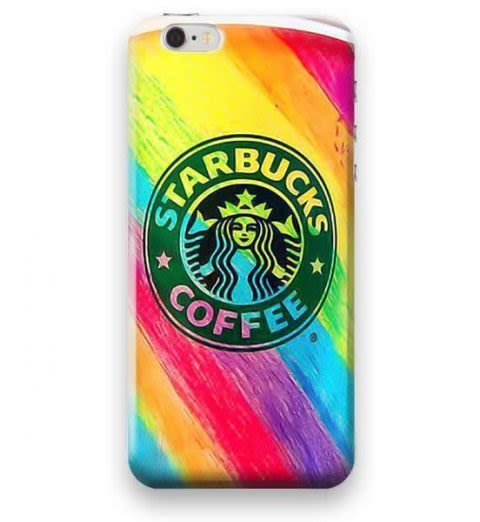 Funda Case Love Starbucks iPhone SE / 5 / 5S - Multicolor