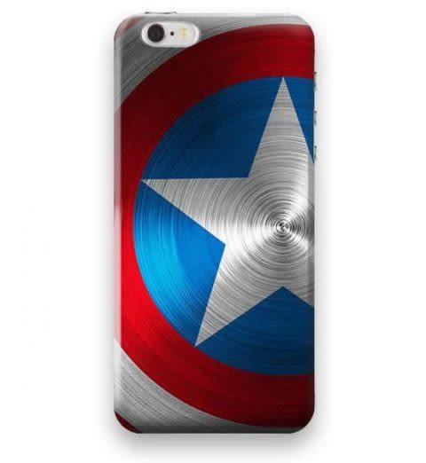 Funda Case Love Capitán América iPhone SE / 5 / 5S - Multicolor