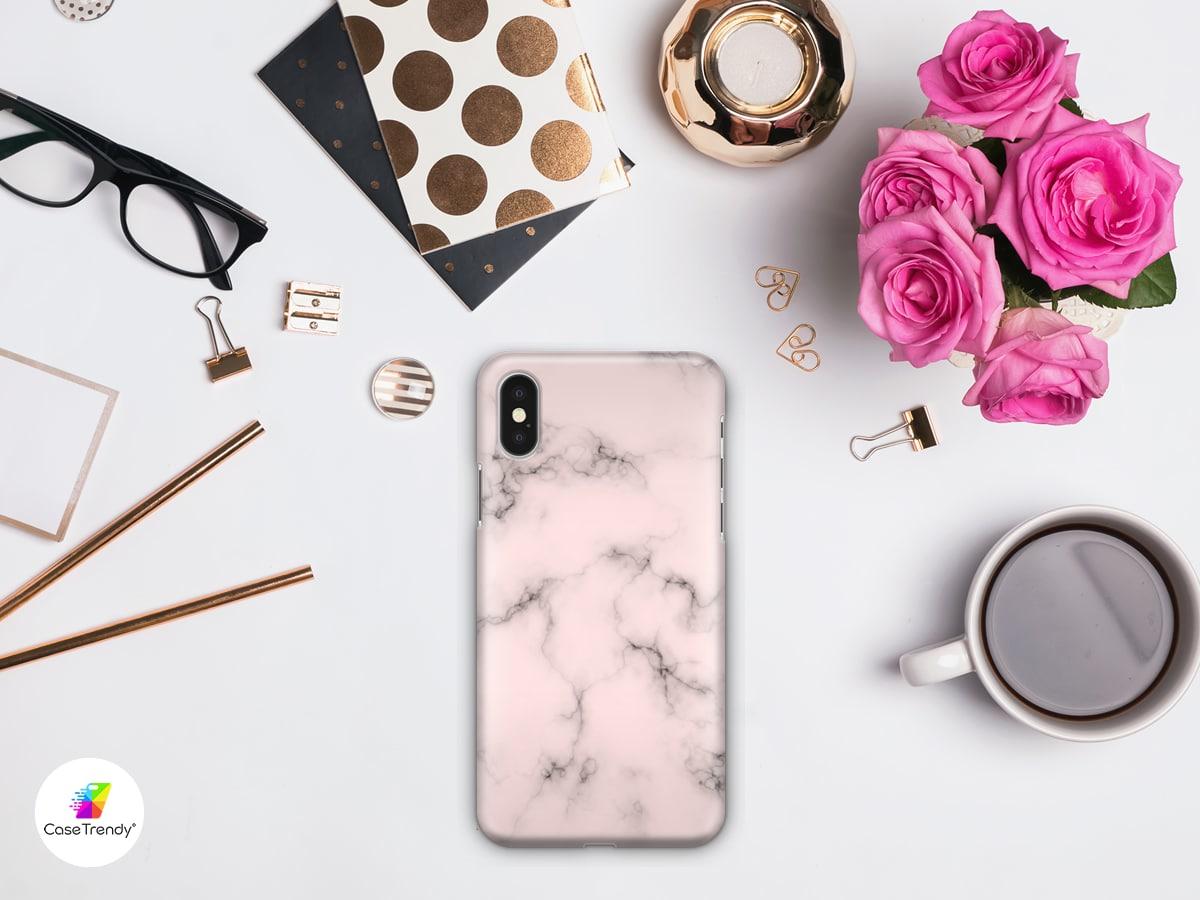 Funda Case Trendy Pink Marble 961