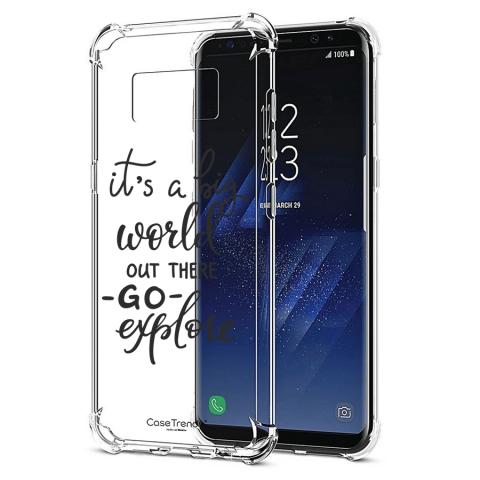 e835d033810 Funda Case Trendy Big World 408 - Transparente - Cell Shop