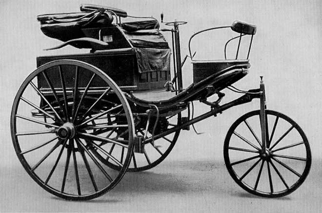 First Gasoline Powered Automobile