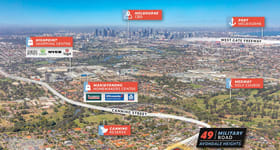 Development / Land commercial property sold at 49 Military Road Avondale Heights VIC 3034