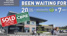 Shop & Retail commercial property sold at Corner Thompsons Road & William Thwaites Blvd Cranbourne North VIC 3977