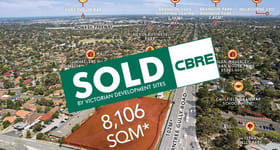 Development / Land commercial property sold at 161-169 Jells Road Wheelers Hill VIC 3150
