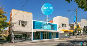Shop & Retail commercial property for lease at 98-100 Main Street Greensborough VIC 3088