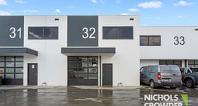 Factory, Warehouse & Industrial commercial property for lease at 32/337 Bay  Road Cheltenham VIC 3192