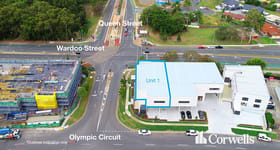 Showrooms / Bulky Goods commercial property for lease at 1/127 Olympic Circuit Southport QLD 4215