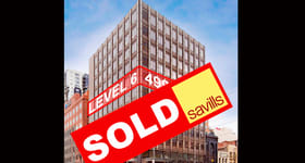 Offices commercial property sold at Level 6/620 Bourke Street Melbourne VIC 3000