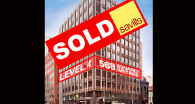 Offices commercial property sold at Level 4, 620 Bourke Street Melbourne VIC 3000