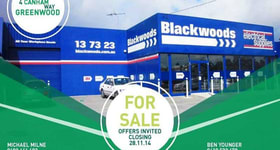 Showrooms / Bulky Goods commercial property sold at 4 Canham Way Greenwood WA 6024