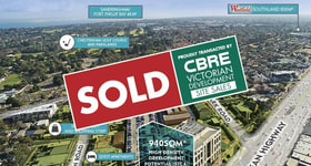 Development / Land commercial property sold at 1234 Nepean Highway Cheltenham VIC 3192