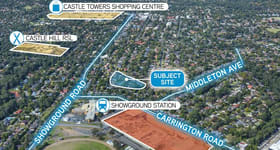 Development / Land commercial property sold at 2-12 Sexton Avenue & 24-34 Fishburn Crescent Castle Hill NSW 2154