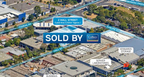 Offices commercial property sold at 2 Hall Street Hawthorn East VIC 3123