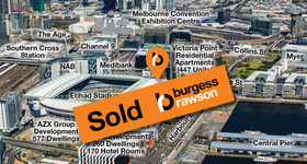 Shop & Retail commercial property sold at Shop 9/744 Bourke Street Docklands VIC 3008