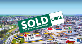 Shop & Retail commercial property sold at Horsham Gateway Corner Wilson Street and Park Drive Horsham VIC 3400