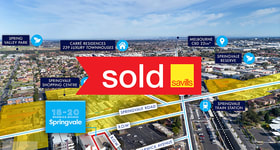 Development / Land commercial property sold at 18-20 Warwick Avenue Springvale VIC 3171