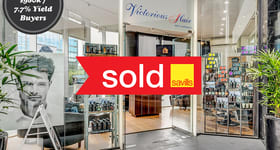 Shop & Retail commercial property sold at Shop 26, 1 Queens Road Melbourne VIC 3000