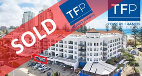 Shop & Retail commercial property sold at Shop 5/99 Griffith Street Coolangatta QLD 4225