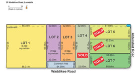 Development / Land commercial property for sale at Lots 1-3, 35 Waddikee Road Lonsdale SA 5160