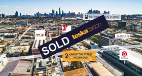 Development / Land commercial property sold at 2 Kingston Street Richmond VIC 3121