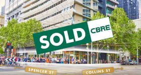 Development / Land commercial property sold at 620 Collins Street Melbourne VIC 3000