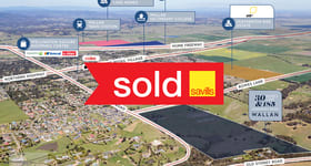 Development / Land commercial property sold at 30 Rowes Lane & 185 Darraweit Road Wallan VIC 3756