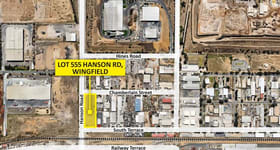 Development / Land commercial property for sale at Lot 555 Hanson Road Wingfield SA 5013